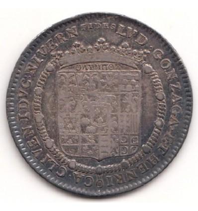 Nevers jeton Louis de Gonzague et Henriette de Clèves 1722