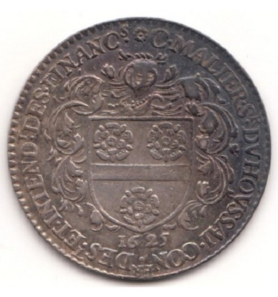 Orléans jeton aux armes de C. Malier, seigneur du Houssay 1625