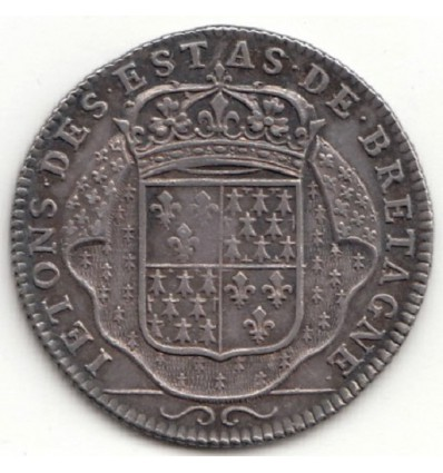 Jeton Louis XIV Etats de Bretagne ( Vitré ) s.d. ( 1697 )
