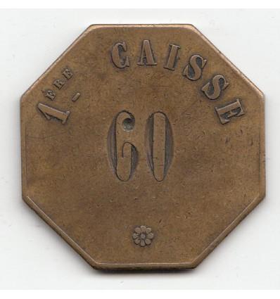 Jeton Banque de France 1 ère Caisse s.d.