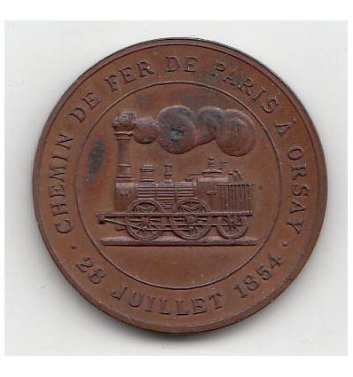Prince Napoléon Bonaparte Chemin de fer Paris-Orsay 1854