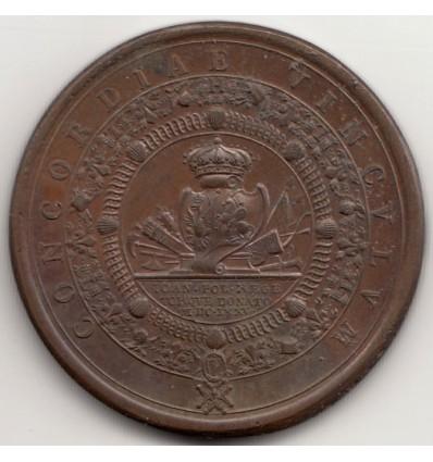 Louis XIV Ordre du Saint-Esprit remis à Jean III Sobieski, roi de Pologne par Mauger 1675
