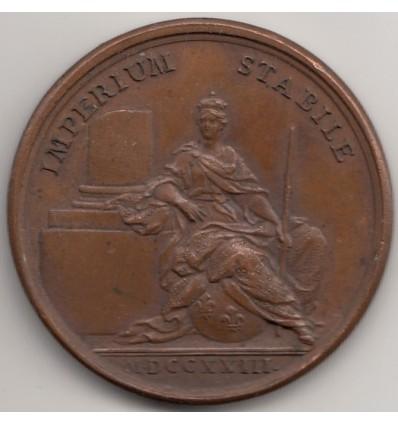 Louis XV La majorité du roi 1723
