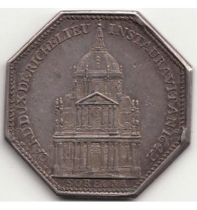 Jeton université de Paris, La Sorbonne 1642