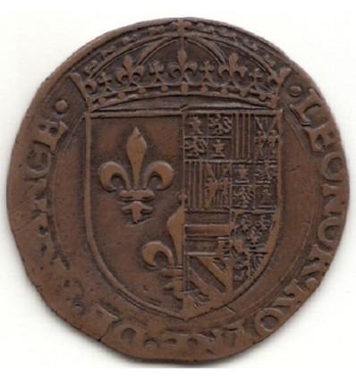 Jeton Eléonore d'Autriche, Nicolas van Laen trésorier de la reine s.d.