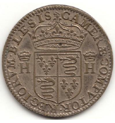 Jeton Henri IV chambre des comptes de Blois s.d.
