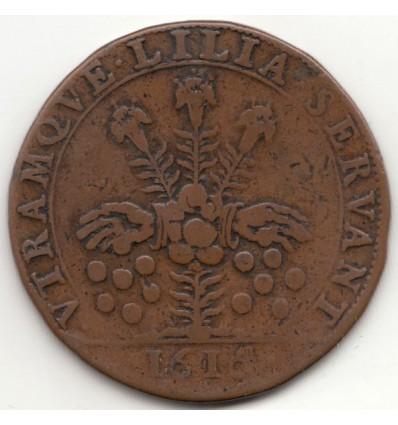 Jeton Louis XIII chambre des monnaies 1616