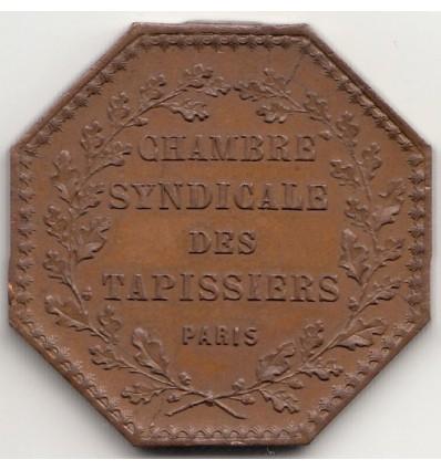 Jeton chambre syndicale des tapissiers 1848