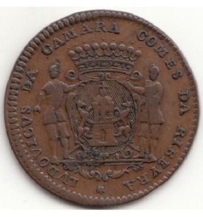 Jeton aux armes de Louis de Camara, comte de Ribeira-Grande 1715
