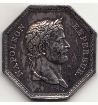 Jeton Napoléon I compagnie des salines de l'Est 1806