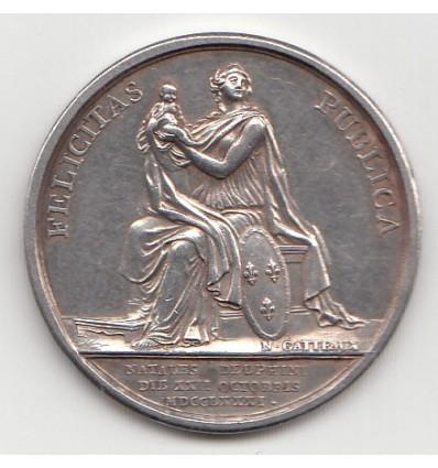 Louis XVI naissance du dauphin Louis-Joseph 1781