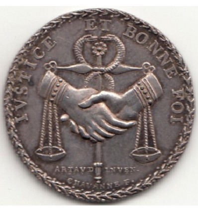 Jeton Prud'hommes de Lyon 1809