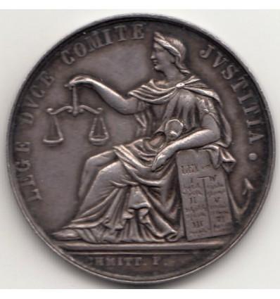 Jeton avoués près du Tribunal de 1 ère instance de Lyon 1851