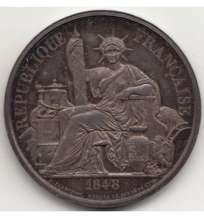 Jeton Imprimerie nationale  par Farochon 1848