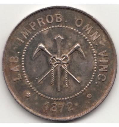 Jeton compagnie charbonnière douaisienne 1855