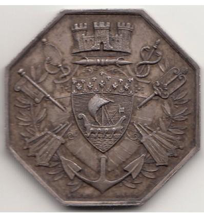 Jeton banque d'escompte de Paris 1878