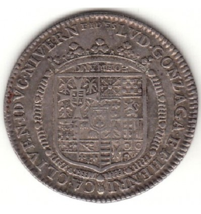 Jeton Nivernais Louis de Gonzague et Henriette de Clèves 1688