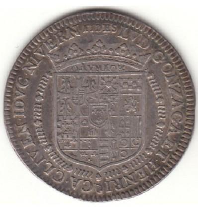 Jeton Nivernais Louis de Gonzague et Henriette de Clèves 1651