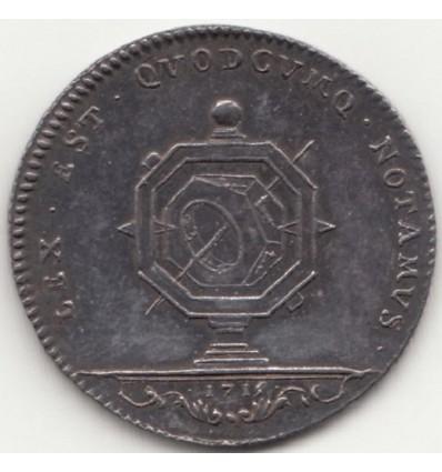Jeton Notaires royaux de la ville de Paris 1715