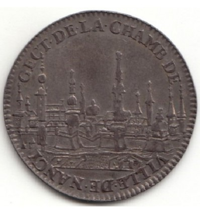 Jeton chambre de la ville de Nancy 1643