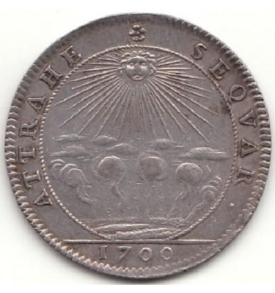 Jeton aux armes de L.F. de Bouchet, marquis de Sourches 1700