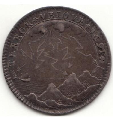 Jeton Henri de Fourcy prévôt des marchands de Paris 1691