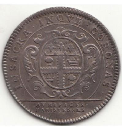 Jeton Louis XV corporation des orfèvres bijoutiers s.d. ( 1722 )