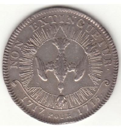 Jeton Louis XV ordre du Saint Esprit 1717