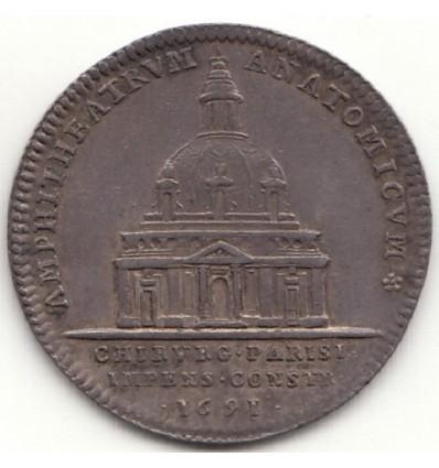 Jeton Louis XIV école de chirurgie de Paris 1691