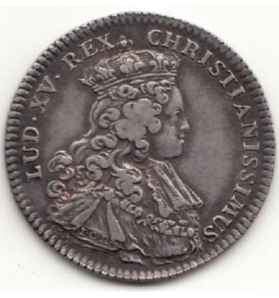Jeton sacre de Louis XV à Reims 1722