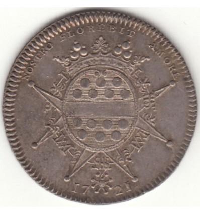 Jeton aux armes de Mellier, maire de Nantes 1721