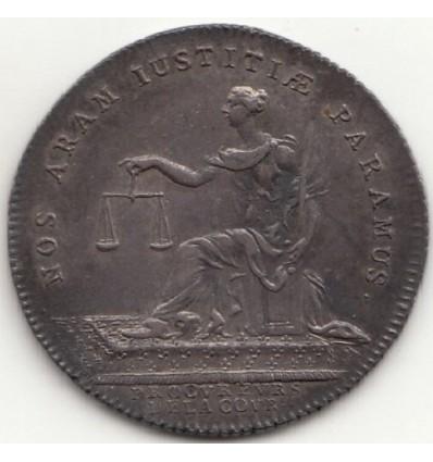 Jeton Louis XV procureurs de la cour s.d.