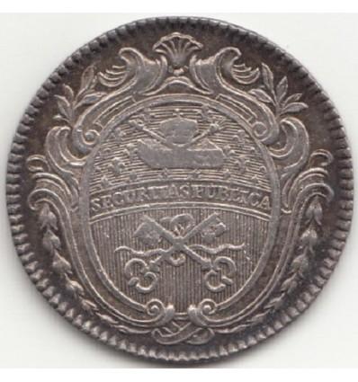Jeton Louis XVI corporation des serruriers s.d.