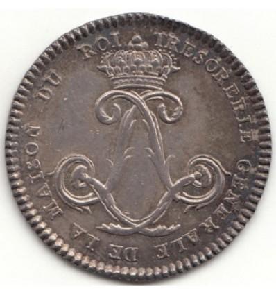 Jeton Louis XVI trésorerie générale de la maison du roi s.d.
