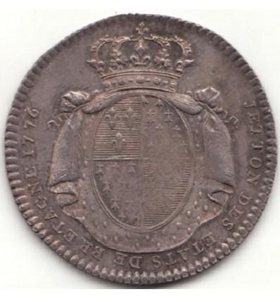 Jeton Louis XVI Etats de Bretagne 1776