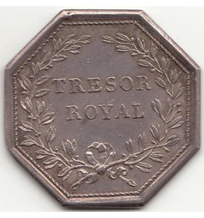Jeton Louis XVI trésor royal s.d.