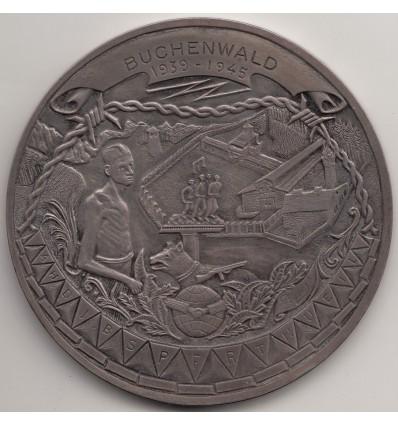 République Française, hommage au déporté Albert Meyer, camp de Buchenwald 1945