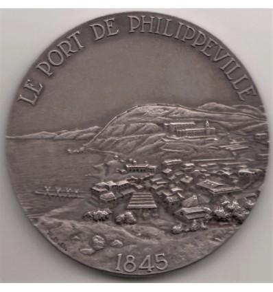 Algérie centenaire du port de Philippeville ( Skikda ) 1945