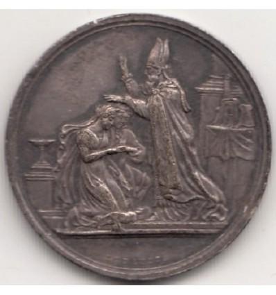 Médaille de mariage par Depaulis 1861