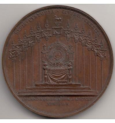Louis XVIII anniversaire de la première restauration 1814