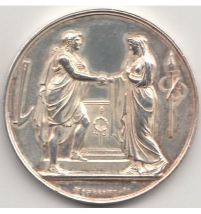 Médaille de mariage 1892