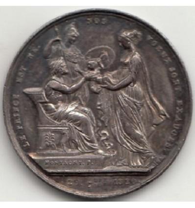Naissance duc de Bordeaux par Montagny 1820