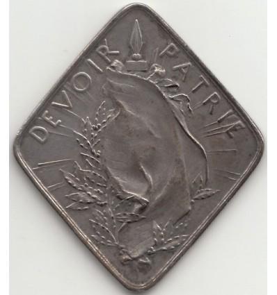 Guerre de 14-18, Devoir-Patrie par Roty 1902