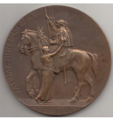 Guerre de 14-18, Libération de  Mulhouse 17 novembre 1918