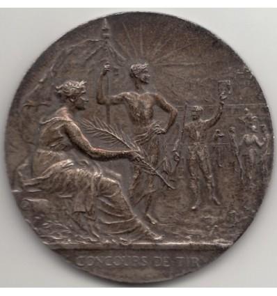 Guerre 14-18, prix de tir offert par le ministre de la Guerre s.d.