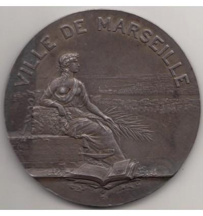 Ville de Marseille par Gustave Martin 1925