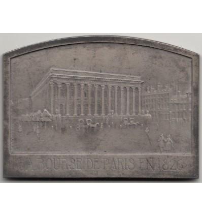 Centenaire de la Bourse de Paris par Baudichon 1926