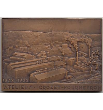Ateliers Crozet-Fourneyron mécanique de précision 1932