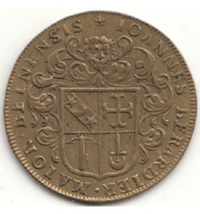 Bourgogne, jeton aux armes de Jean Bérardier, maire de Beaune s.d. ( 1669 )