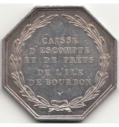 Charles X caisse d'escompte de prêts de l'île de Bourbon s.d.